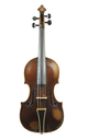 Baroque viola in original condition, Mittenwald, approx. 1800 - top