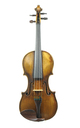 Delicate historic French violin, probably the Charotte family - top