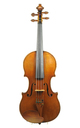 Ernst Heinrich Roth, 1924 master violin, Amati model - top