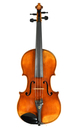 H. Derazey workshop, late 19th century French violin - top