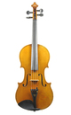 Markneukirchen master violin by August Hermann Braun - spruce table