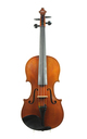WORKED OVER AND OPTIMIZED: Modern Italian 7/8 violin, Carlo Melloni, 1932 (certificate Eric Blot)