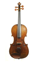 18th century English violin after Amati - top