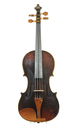 Antique violin from Mittenwald, ca. 1850 - top
