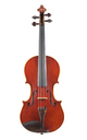 Italian master violin by Antonio Venturini - top