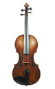 19th century master violin, 1800-1820 - top
