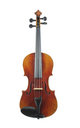 3/4 - antique German 3/4  violin c1860 - top