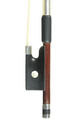 Mozart bow - lightweight, active violin bow, silver, Germany - frog