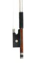 Fine quality Markneukirchen violin bow - frog