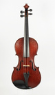 Rare old English violin, Ch. Heinrich - top