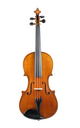 J. A. Baader Mittenwald, 3/4 violin - top view