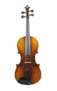 3/4 - German violin after Amati, Boosey & Hawkes, approx. 1920 - top view