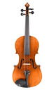 Antique Saxon violin, circa 1920 - top