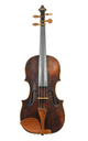 Klingenthal violin, 19th century - top