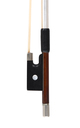 Markneukirchen violin bow with blank frog - head