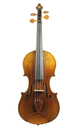 Decorated, antique 1850's German Klingenthal violin
