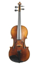 Didier Nicolas: French master violin, approx. 1820 - top