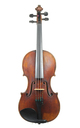 French solist violin, François Caussin, Neufchateau approx. 1850 - top
