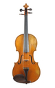 French violin, Etienne Leprevotte - top view