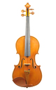 Italian violin, 1970's, probably by Carlo Giudici - top