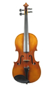 Handcrafted Markneukirchen violin, GDR about 1960 - top