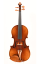 Handcrafted Markneukirchen violin - top