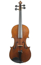 German Violin made in the French style, Saxony, circa 1910 - top