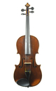 Antique French violin, ca. 1880 - top