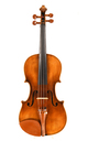 1930's, beautiful old German Markneukirchen violin after Stradivari  - top view