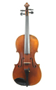 Old Mittenwald violin with a dark, clear tone, 1950's - top