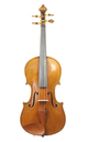 Antique German Saxon violin with a bright, warm tone