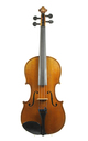 Antique French violin, ca. 1900 - top