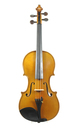 Fine French master violin by Paul Hilaire, 1950, No. 34 - top