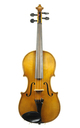 Old Markneukirchen violin, approx. 1900 - top view
