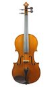 "French ""Andreas Borelli"" violin from Mirecourt  - top view"