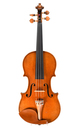 C. A. Götz violin, 1937 - top view