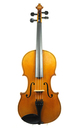 Antique French viola, top view