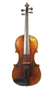 Czech viola, Mittenwald style - top view
