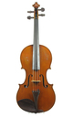 Mirecourt violin, approx. 1880 - top view