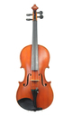 Historically interesting French violin, by Rene Bazin - top view