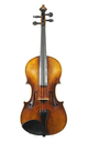 Quality violin from Saxony - top view