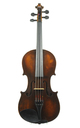 French violin, Mirecourt approx. 1920 - top view