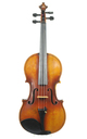 Handsome 1920's French violin, Mirecourt, probably Laberte - violin table