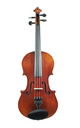 French violin - front view