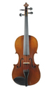 German Violin from Saxony - top view