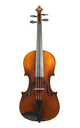Violin from Saxony, approx. 1880 - top