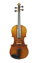 3/4 violin from Saxony - front view