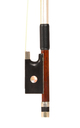 Fine German violin bow, Knopf. approx. 1880 - frog