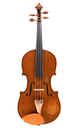 Klingenthal violin with interesting scroll - front view