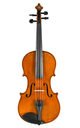 Old, 1940's Saxon violin, Markneukirchen, bright tones - top
